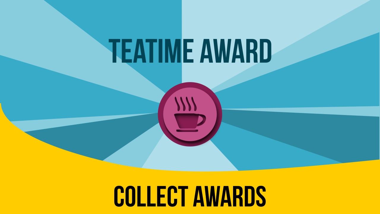 Fallin tea time award