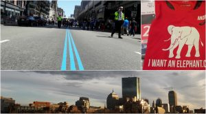 Running with I WANT AN ELEPHANT in Boston