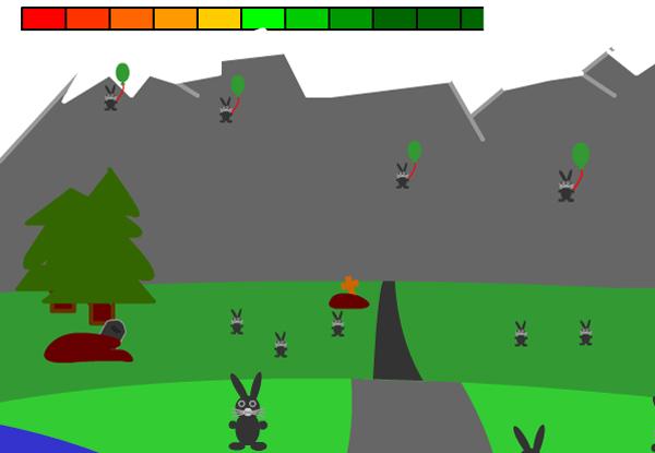 bunny hunt by gag