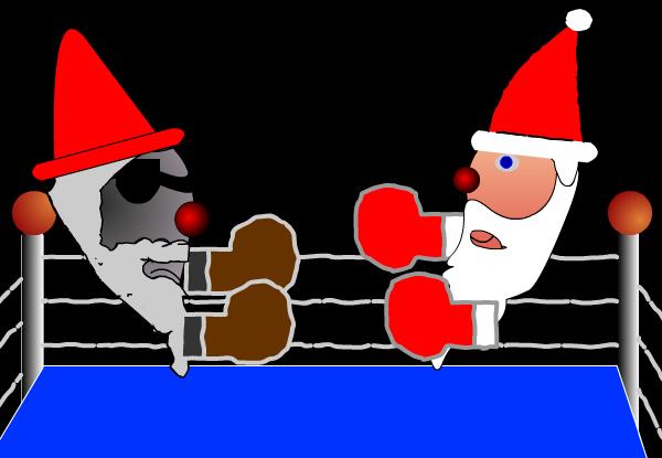 santa fight by gag