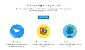 Google Play Translate Service
