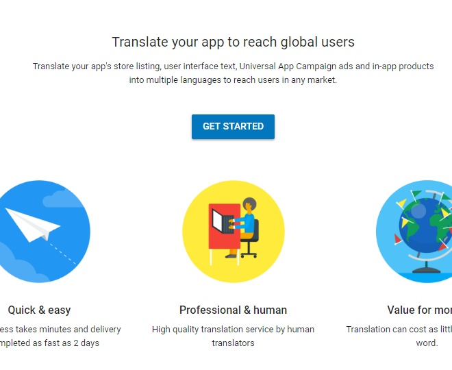 Google Play Translate Service