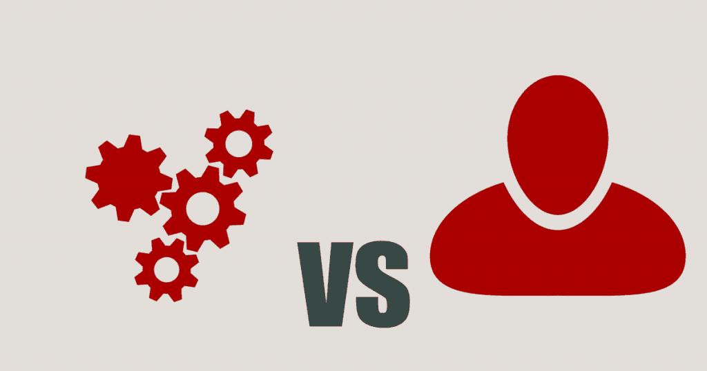 Machine vs human based translation