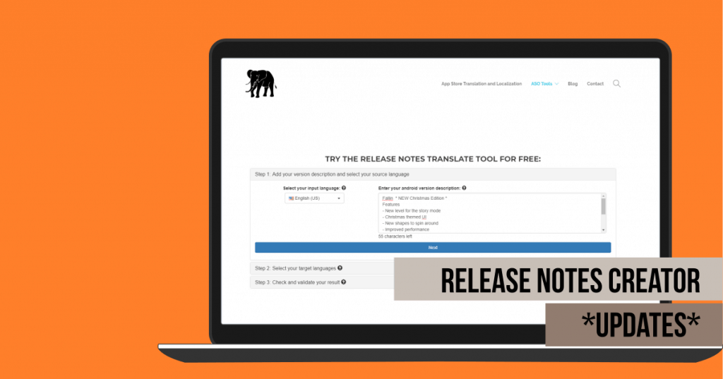 Release Notes Creation