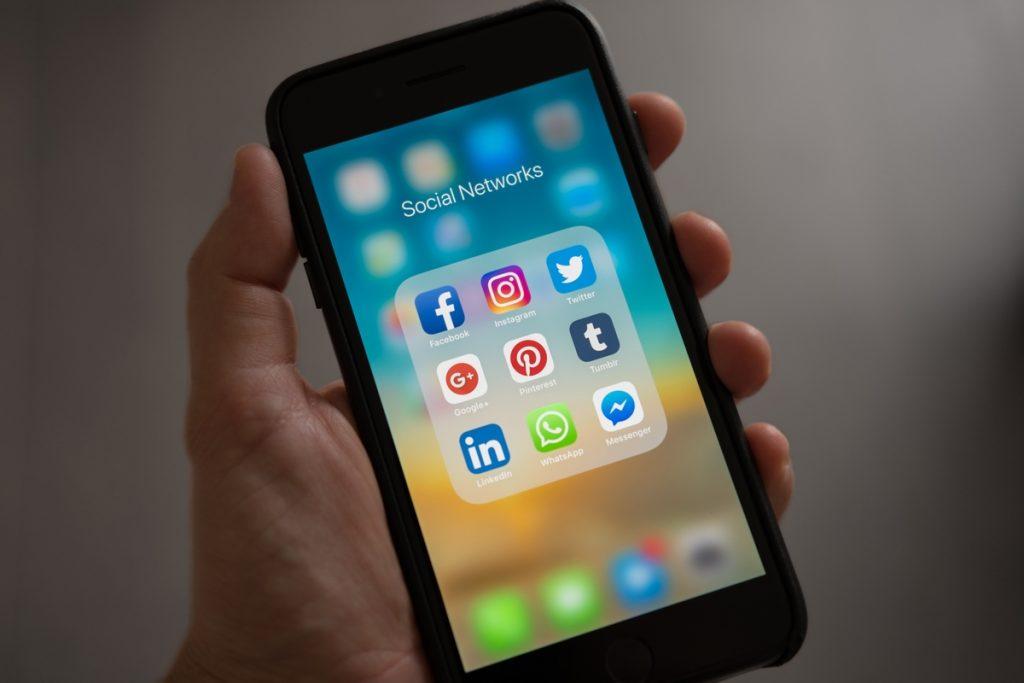 Social app marketing